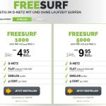 freenetmobile freeSURF Datenflat